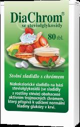 DiaChrom se steviolglykosidy - 80 tbl