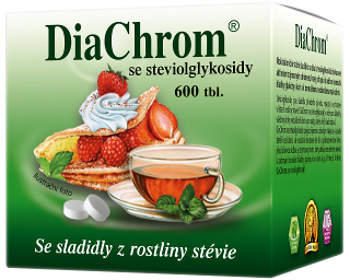 DiaChrom se steviolglykosidy - 600 tbl