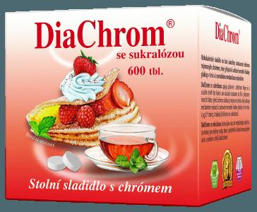 DiaChrom se sukralózou - 600 tbl