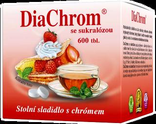 DiaChrom se sukralózou