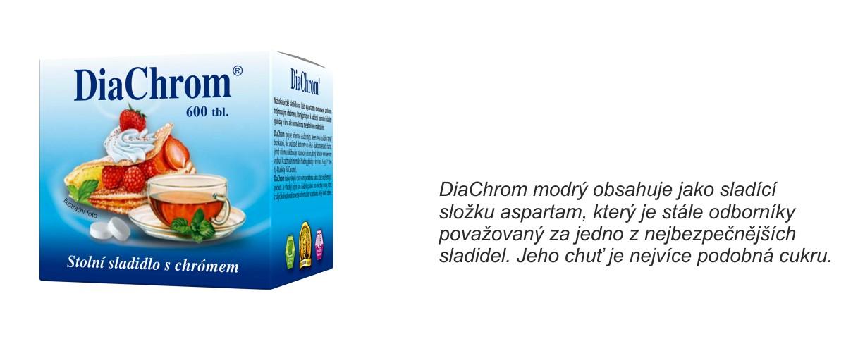DiaChrom modrý